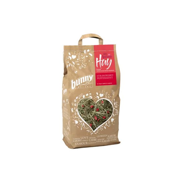 my favorite Hay from nature conversation meadows STRAWBERRY-PEPPERMINT 100g