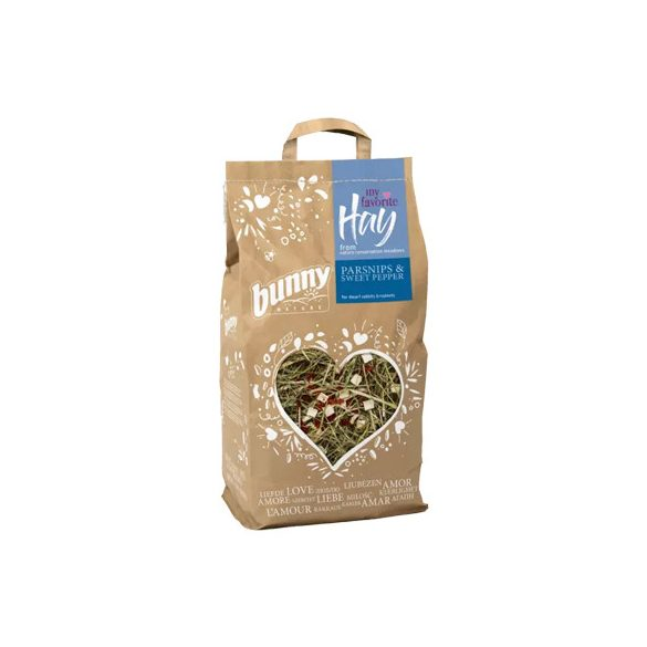 my favorite Hay from nature conversation meadows PARSNIPS & SWEET PEPPER 100g