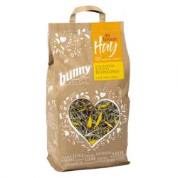 my favorite Hay from nature conservation meadows SUNFLOWER & MALVA BLOSSOMS 100g