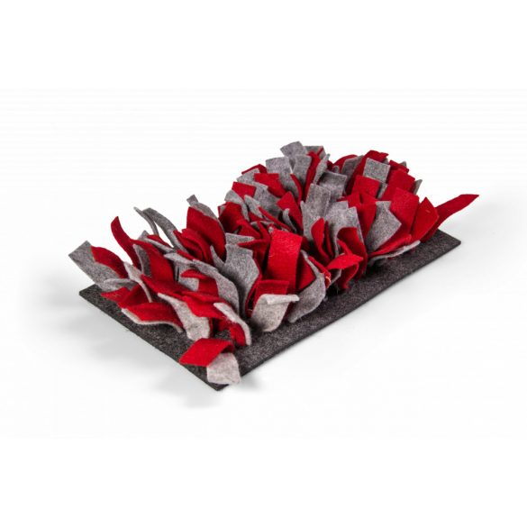Snufflemat FELT (red-grey)