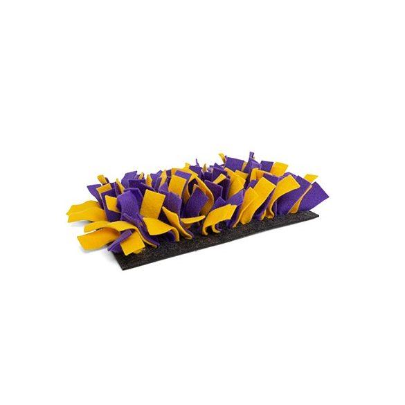 Snufflemat FELT (purple/yellow)