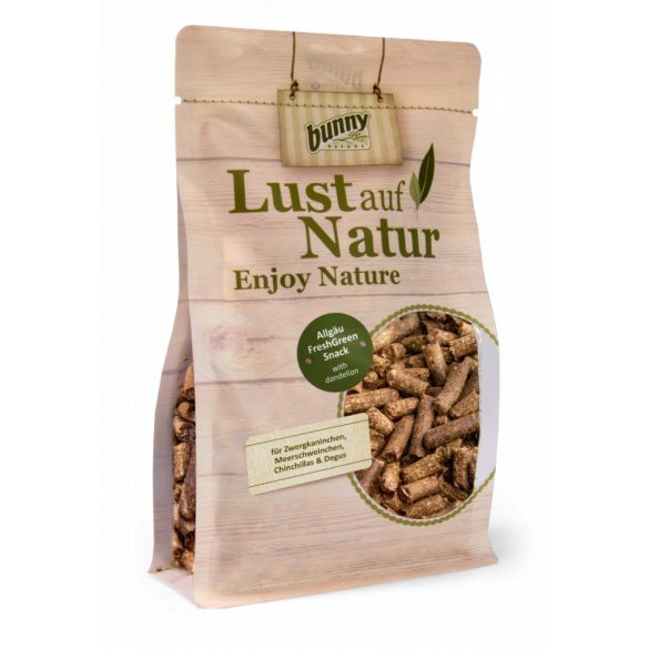 Lust auf Nature Allgäu FreshGreen Snack with dandelion 450g