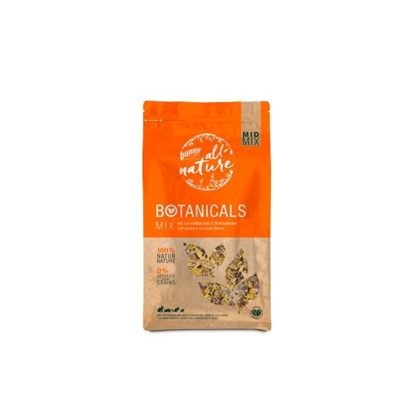 »all nature« BOTANICALS Mix with daisies & red clover flowers 120g