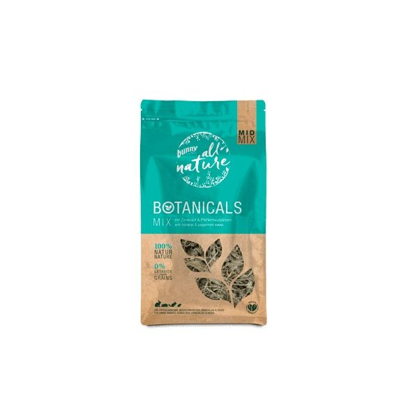 »all nature« BOTANICALS Mix with horsetail & peppermint leaves 120g