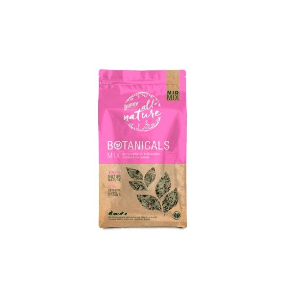 »all nature« BOTANICALS Mix of ribwort & rose blossoms 120g