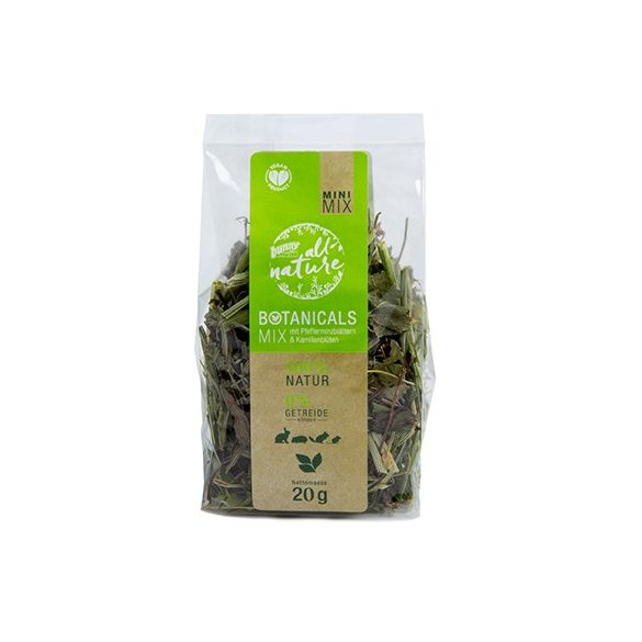 »all nature« BOTANICALS Mix with peppermint leaves & camomile blossoms 20g